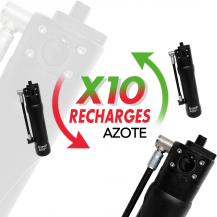 Forfait 10 Recharges Capsule 250 Azote
