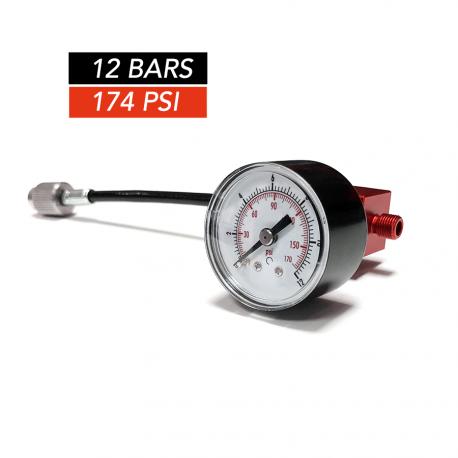 Manomètre analogique 12 bars/174psi