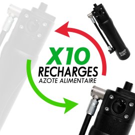 Forfait Pack 10 Recharges Azote Alimentaire